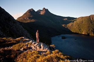 Matt at Cradle Mountain